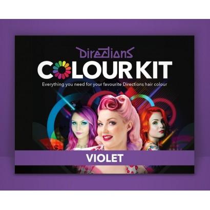 Kit culoare  Violet DIRECTIONS